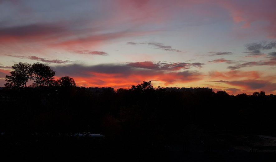 Wschód słońca nad Silnicą ❤️