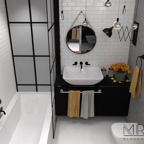 Kawalerka Vintage-łazienka1