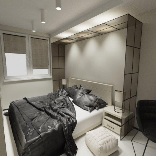 Mieszkanie z garderobą render1